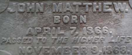 WALKER, JOHN MATTHEW - Salt Lake County, Utah | JOHN MATTHEW WALKER - Utah Gravestone Photos