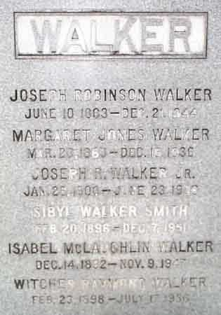 WALKER, MARGARET - Salt Lake County, Utah | MARGARET WALKER - Utah Gravestone Photos