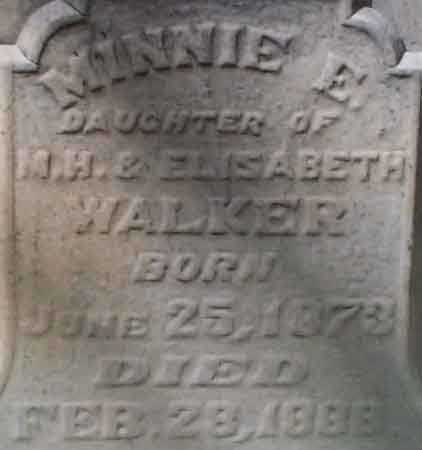 WALKER, MINNIE E. - Salt Lake County, Utah | MINNIE E. WALKER - Utah Gravestone Photos