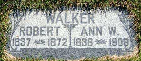WALKER, ANN - Salt Lake County, Utah | ANN WALKER - Utah Gravestone Photos