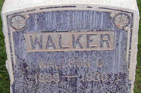 WALKER, WALDRON O'DEAN - Salt Lake County, Utah | WALDRON O'DEAN WALKER - Utah Gravestone Photos