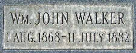 WALKER, WILLIAM JOHN - Salt Lake County, Utah | WILLIAM JOHN WALKER - Utah Gravestone Photos