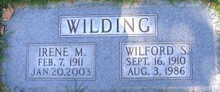 WILDING, WILFORD SHILL - Salt Lake County, Utah | WILFORD SHILL WILDING - Utah Gravestone Photos