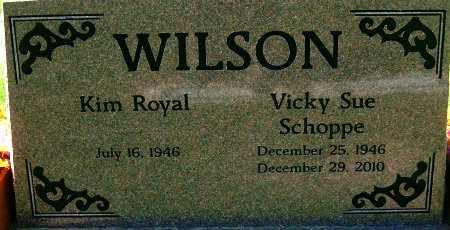SCHOPPE WILSON, VICKY SUE - Salt Lake County, Utah | VICKY SUE SCHOPPE WILSON - Utah Gravestone Photos