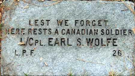 WOLFE, EARL S - Salt Lake County, Utah   EARL S WOLFE - Utah Gravestone Photos