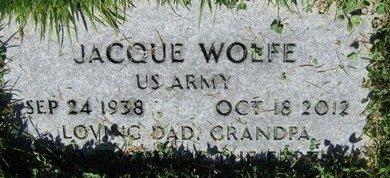 WOLFE, JACQUE - Salt Lake County, Utah | JACQUE WOLFE - Utah Gravestone Photos