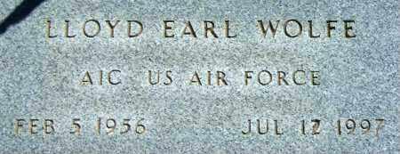 WOLFE, LLOYD EARL - Salt Lake County, Utah   LLOYD EARL WOLFE - Utah Gravestone Photos