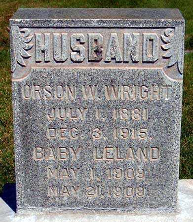 WRIGHT, LELAND WINSLOW - Salt Lake County, Utah | LELAND WINSLOW WRIGHT - Utah Gravestone Photos