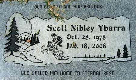 YBARRA, SCOTT NIBLEY - Salt Lake County, Utah | SCOTT NIBLEY YBARRA - Utah Gravestone Photos