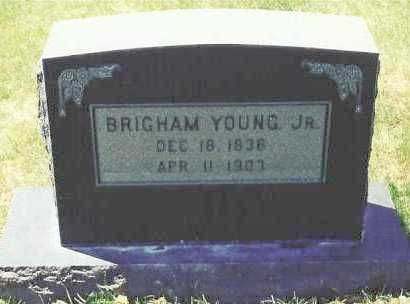 YOUNG, BRIGHAM, JR. - Salt Lake County, Utah | BRIGHAM, JR. YOUNG - Utah Gravestone Photos