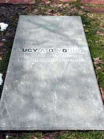 YOUNG, LUCY ANN - Salt Lake County, Utah | LUCY ANN YOUNG - Utah Gravestone Photos
