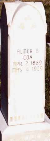 COX, ALMER  BINGLEY - Sanpete County, Utah   ALMER  BINGLEY COX - Utah Gravestone Photos