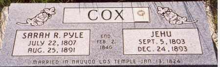 COX, JEHU - Sanpete County, Utah | JEHU COX - Utah Gravestone Photos
