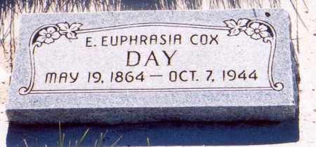 DAY, ELVIRA EUPHRASIA - Sanpete County, Utah   ELVIRA EUPHRASIA DAY - Utah Gravestone Photos