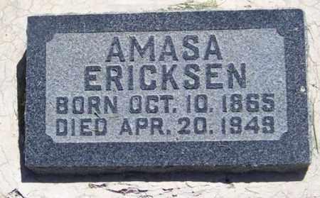 ERICKSEN, AMASA - Sanpete County, Utah | AMASA ERICKSEN - Utah Gravestone Photos