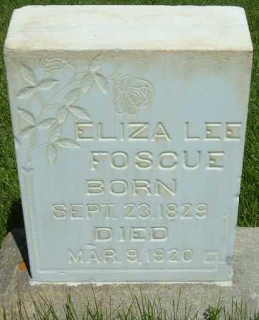 FOSCUE WELLS, ELIZA ANN - Sanpete County, Utah | ELIZA ANN FOSCUE WELLS - Utah Gravestone Photos