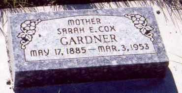GARDNER, SARAH ELLEN - Sanpete County, Utah | SARAH ELLEN GARDNER - Utah Gravestone Photos