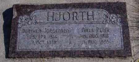 JORGENSEN HJORTH, DORTHEA ANCENA - Sanpete County, Utah | DORTHEA ANCENA JORGENSEN HJORTH - Utah Gravestone Photos