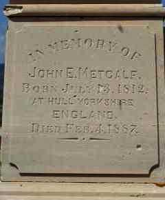 METCALF, JOHN E - Sanpete County, Utah | JOHN E METCALF - Utah Gravestone Photos