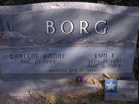 AMORE BORG, DARLENE - Sevier County, Utah | DARLENE AMORE BORG - Utah Gravestone Photos