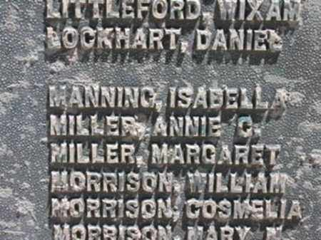 MANNING, ISABELLA - Sevier County, Utah | ISABELLA MANNING - Utah Gravestone Photos