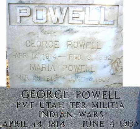 POWELL, MARIA - Sevier County, Utah | MARIA POWELL - Utah Gravestone Photos