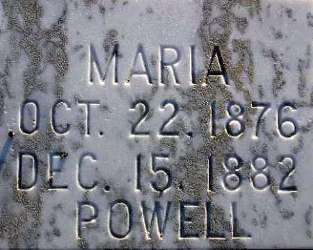 POWELL, MARIA MARY - Sevier County, Utah | MARIA MARY POWELL - Utah Gravestone Photos