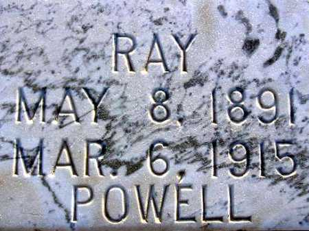 POWELL, RAY HAZLETON - Sevier County, Utah | RAY HAZLETON POWELL - Utah Gravestone Photos