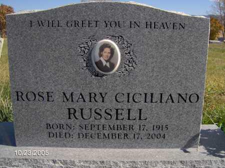 CICILIANO, ROSE MARY - Sevier County, Utah | ROSE MARY CICILIANO - Utah Gravestone Photos