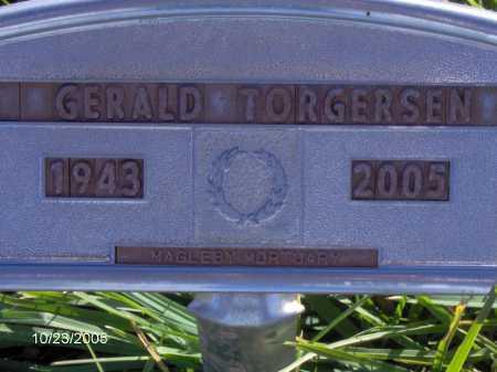 TORGERSEN, GERALD WAYNE - Sevier County, Utah | GERALD WAYNE TORGERSEN - Utah Gravestone Photos