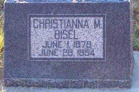 MICHIE BISEL, CHRISTIANNA - Summit County, Utah | CHRISTIANNA MICHIE BISEL - Utah Gravestone Photos