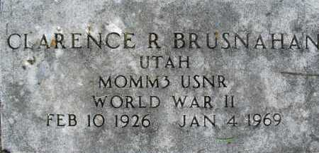 BRUSHNAHAN, CLARENCE - Summit County, Utah | CLARENCE BRUSHNAHAN - Utah Gravestone Photos