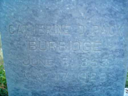 PACK BURBIDGE, CATHRINE DEVALA - Summit County, Utah | CATHRINE DEVALA PACK BURBIDGE - Utah Gravestone Photos