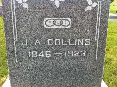 COLLINS, J. A. - Summit County, Utah   J. A. COLLINS - Utah Gravestone Photos