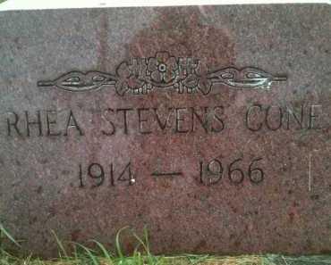 STEVENS CONE, RHEA - Summit County, Utah | RHEA STEVENS CONE - Utah Gravestone Photos