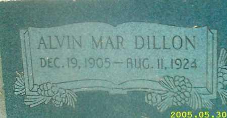 DILLON, ALVIN MAR - Summit County, Utah | ALVIN MAR DILLON - Utah Gravestone Photos