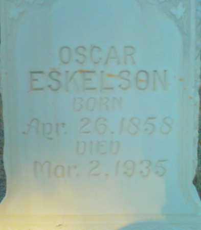 ESKELSON, OSCAR - Summit County, Utah   OSCAR ESKELSON - Utah Gravestone Photos