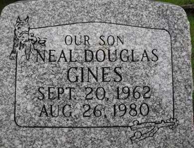 GINES, NEAL DOUGLAS - Summit County, Utah | NEAL DOUGLAS GINES - Utah Gravestone Photos