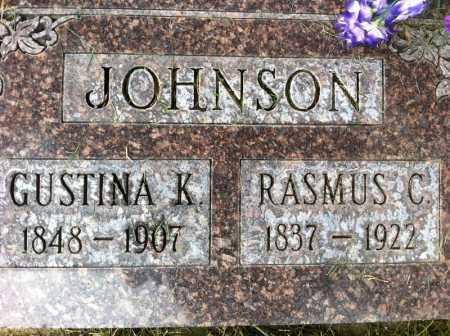 JOHNSON, RASMUS - Summit County, Utah | RASMUS JOHNSON - Utah Gravestone Photos