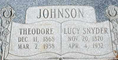 JOHNSON, THEODORE - Summit County, Utah | THEODORE JOHNSON - Utah Gravestone Photos