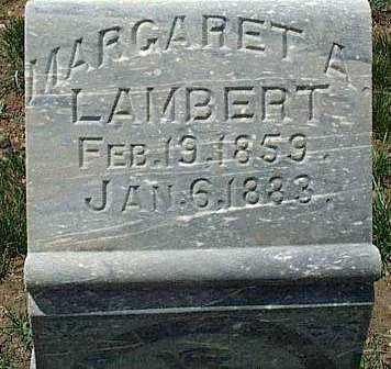 LAMBERT, MARGARET ANN - Summit County, Utah | MARGARET ANN LAMBERT - Utah Gravestone Photos
