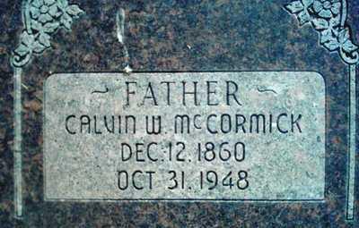 MCCORMICK, CALVIN - Summit County, Utah | CALVIN MCCORMICK - Utah Gravestone Photos