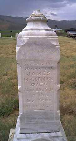 MCCORMICK, JAMES - Summit County, Utah | JAMES MCCORMICK - Utah Gravestone Photos
