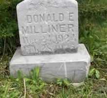 MILLINER, DONALD - Summit County, Utah   DONALD MILLINER - Utah Gravestone Photos