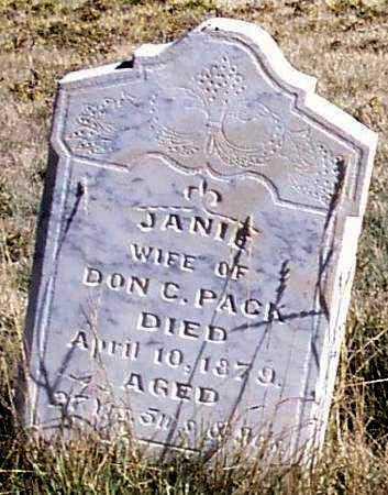 PACK, SAMANTHA JANE - Summit County, Utah | SAMANTHA JANE PACK - Utah Gravestone Photos