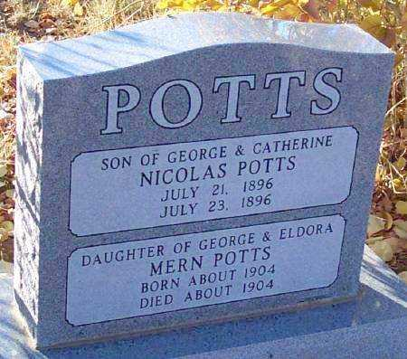 POTTS, MERN - Summit County, Utah   MERN POTTS - Utah Gravestone Photos
