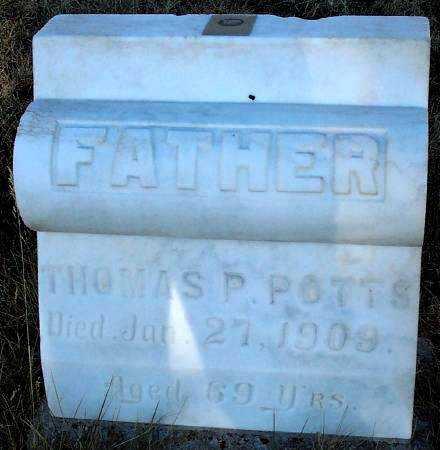POTTS, THOMAS PULLEN - Summit County, Utah   THOMAS PULLEN POTTS - Utah Gravestone Photos