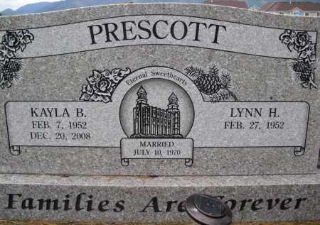 PRESCOTT, LYNN - Summit County, Utah   LYNN PRESCOTT - Utah Gravestone Photos