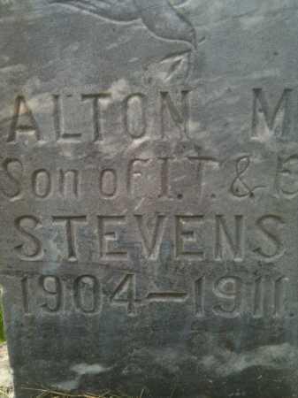 STEVENS, ALTON - Summit County, Utah | ALTON STEVENS - Utah Gravestone Photos