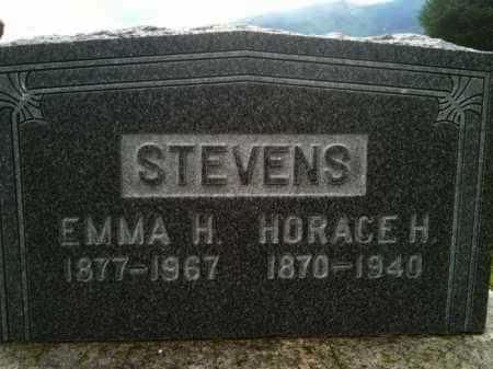 STEVENS, HORACE - Summit County, Utah | HORACE STEVENS - Utah Gravestone Photos